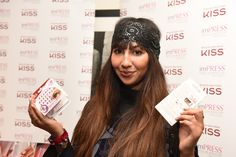 Jackie Cruz #celebrity #emmys2015 #giftlounge #imPRESSmanicure #kissnails #kisslashes