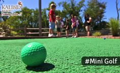Mini golf courses for all golf lovers at Kalindi Resorts