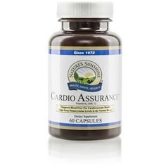 Cardio Assurance® (60 caps) helps reduce the risk of #heart disease and strengthen #cardiovascular function.  http://www.harmony4health.com    http://www.naturessunshine.com/us/product/cardio-assurance-60-caps/553/
