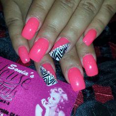 Gel full set nail art
