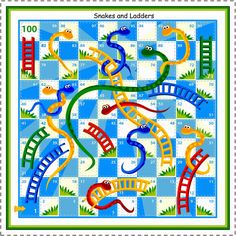 Printable Board Games Board Games are fun. Board Games are exciting. Board Games are… not free. Snakes And Ladders Template, Snakes And Ladders Printable, Mazes For Kids Printable, Printable Board Games, Free Printable, Kid Printables, Printable Coloring, Free Board Games, Free Games For Kids
