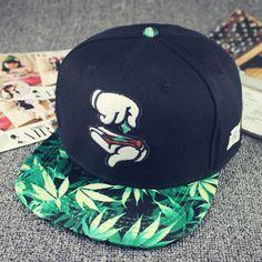 21e08595bae 2015 New Fashion Weed Snapback Caps Hats Hip Hop Baseball Cap Strapback for  Men Women Bone