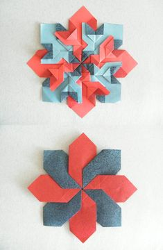 Check out the webpage to see more about Discovering Origami Origami Modular, Diy Origami, Origami And Quilling, Origami And Kirigami, Origami Fish, Oragami, Origami Paper Folding, Fabric Origami, Origami Flowers Tutorial