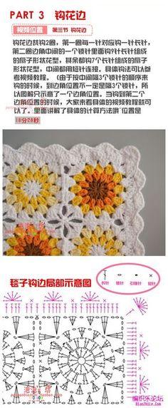 Transcendent Crochet a Solid Granny Square Ideas. Inconceivable Crochet a Solid Granny Square Ideas. Crochet Square Patterns, Crochet Squares, Crochet Granny, Crochet Blanket Patterns, Crochet Baby, Knitting Patterns, Knit Crochet, Manta Crochet, Crochet Mandala
