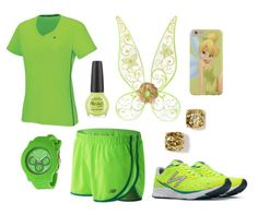 5 Tinker Bell looks to inspire your Run Disney marathon style | Workout outfit inspiration | [ https://style.disney.com/living/2016/05/05/tinker-bell-looks-marathon-style/ ]