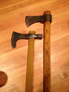 Bearded axe and Trade axe