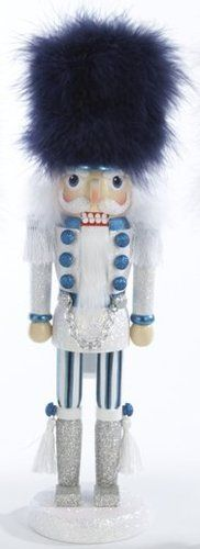 Tall Fur Hat Soldier Wooden Hollywood Christmas Nutcracker Kurt Adler 15 Inch   eBay