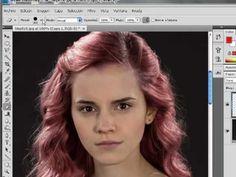 Cambiar de color cabello y ropa en photoshop (español)