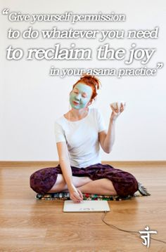 I love this picture - and the post! Namaste Yoga | Refresh Your Practice with a Break from Asana