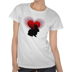 Love bunny rabbit - customisable t shirts  This is a beautiful design by Awesome street. Suitable for any bunny rabbit lover. Show the world you love your rabbit.    http://www.zazzle.co.uk/love_bunny_rabbit_customisable_t_shirts-235721038067558530