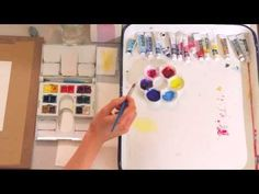 Color Foundation with Stephen Quiller: Expanding the Palette and Characteristics of Pigments - YouTube