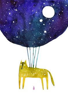 Constellation by madalina andronic, via Behance