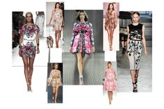 Flattering Florals - Runway Fashion | The Lady Loves Couture - Expert Advice on Fashion