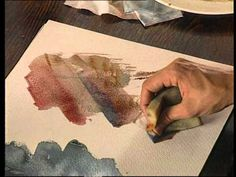 """▶ DIBUJO Y PINTURA 17 """"Pintura con efectos de textura"""" - YouTube"""