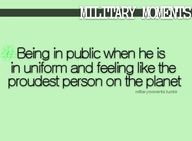 @Amanda Bradfield I thought of you when I seen this. So thankful for our military and their spouses.