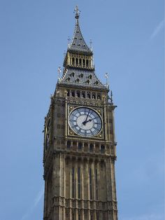 Big Ben London by francescaturchi, via Flickr