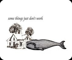 Whale House dont work decorative Mouse Pad mousepad funny
