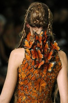 McQueen Sticking with my dragon fly wing theme... Corinne Madias @ Kw
