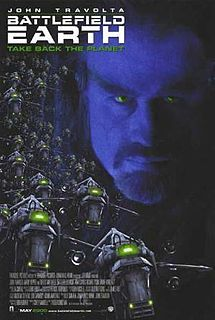 Battlefield Earth- Starring: John Travolta and Barry Pepper (May 12, 2000)