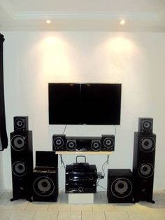 Sony Home Theater System, Sony Home Theatre, Hifi Stereo, Cinema, Home Decor, Tv Unit Furniture, Movies, Decoration Home, Room Decor