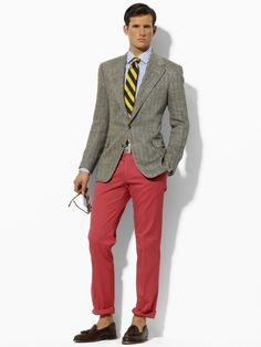 Polo by Ralph Lauren. I have everything but the #redpants~!