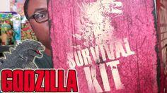 "GODZILLA TWERK?? Unboxing Godzilla Kit : Black Nerd Unboxing of the Godzilla Survival Kit with a ""twerking"" Godzilla toy."