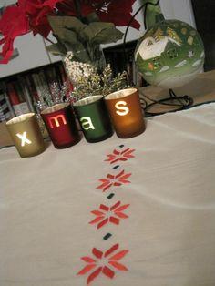 Jak święta to ozdoby świąteczne muszą być:) Nie szyję wianków ani nie robię krasnali za to haftuję. I wytworzyłam sobie serwetę świąteczną:). I nie byłabym sobą jakbym czegoś znowu nie przerobiła. …