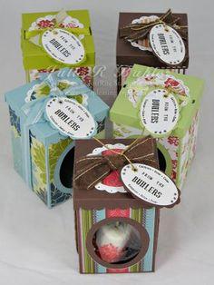 Treat Box Tutorial - Paper Pleasing Ideas