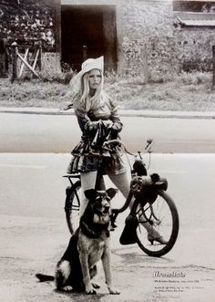 newbornhippy: missbrigittebardot: Brigitte Bardot on the set of 'Les Novices', Wow
