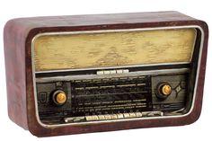 Resin Radio Radionette Symfoni-3D Maroon