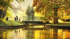 Autumn in Bucharest, România. Bucharest, Romania, Places To Travel, Fairy Tales, Awesome, Painting, Deviantart, Autumn, Spaces