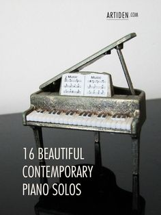 We all know and love (for the most part) the popular classics... But there are tons of phenomenal contemporary pieces that are right up there. I've compiled a showcase of 16 beautiful contemporary ...