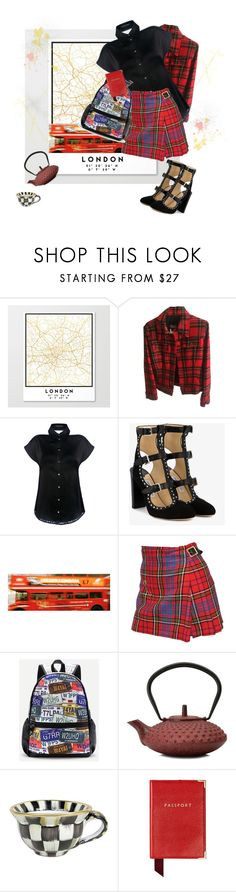 """""""london calling"""" by jastil ❤ liked on Polyvore featuring Dolce&Gabbana, Marissa Webb, Jimmy Choo, Vivienne Westwood, WithChic, MacKenzie-Childs, Aspinal of London, outfit, travel and London"""