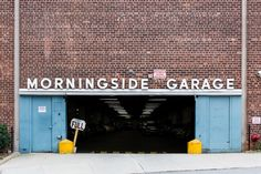Typeface study of Broadway; our own Morningside Garage = Neuzeit-Grotesk, close to Futura