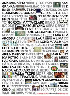 cldt bienaleducativo poster by celso longo + daniel trench