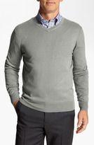 cashmere silk-faconnable sicoca classique fit silk cashmere blend sweater