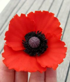 Tutorial – red poppy, part 2