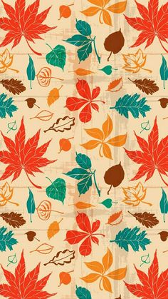 Image uploaded by Sara. Find images and videos about cool, wallpaper and autumn on We Heart It - the app to get lost in what you love. Leaves Wallpaper Iphone, Autumn Leaves Wallpaper, Cute Fall Wallpaper, Vintage Flowers Wallpaper, Fall Leaves Background, Butterfly Wallpaper, Apple Wallpaper, Aesthetic Iphone Wallpaper, Halloween Wallpaper
