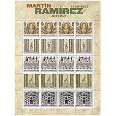 Amazon.com: Martin Ramirez Sheet of 20 x Forever U.S. Postage Stamps USPS: Toys & Games