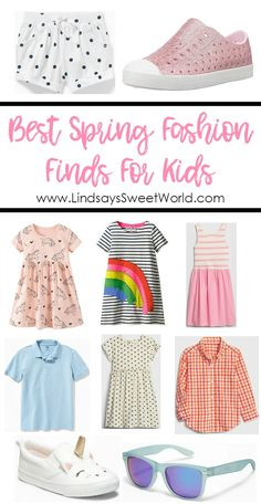 Lindsay's Sweet World: Best Spring Fashion Finds for Kids