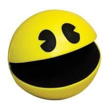 Stress ball for the PacMan lover, gobble gobble Pac Man Videos, Balle Anti Stress, Caleb, Nintendo, Geek Gadgets, Japanese Characters, Gaming Accessories, Game Icon, Amor