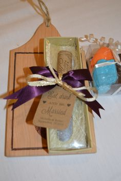 Bridal shower favors from August 2nd here at Capriottis! #capriottis #capriottiscatering #showerfavors