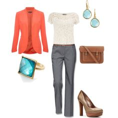 Working Girl, created by robincarver on Polyvore