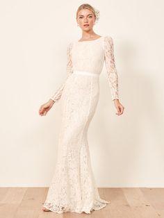 9a05bbc1 Elopement Kjole, Reformationen, Falde Brudekjoler, Dress Outfits, Brud,  Bryllupper