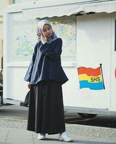 Style Hijab Remaja Kurus 58 Ideas For 2019 – Hijab Fashion 2020 Trendy Fashion, Boho Fashion, Girl Fashion, Fashion Outfits, Fashion Clothes, Hijab Casual, Street Hijab Fashion, Muslim Fashion, Modest Outfits