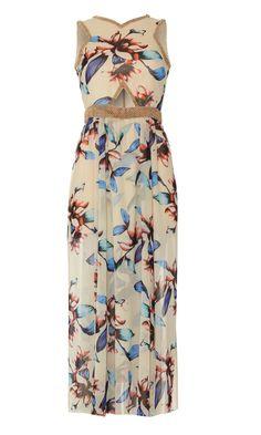Virgos Lounge Floral Beaded Dress, £85
