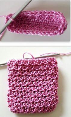 Crochet Purses Patterns free crochet patterns, how to crochet, gif bag, drawstring, Crochet Drawstring Bag, Drawstring Bag Pattern, Small Drawstring Bag, Backpack Pattern, Drawstring Backpack, Purse Patterns Free, Crochet Purse Patterns, Bag Pattern Free, Crochet Handbags