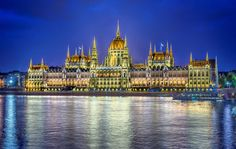 Parliament in Budapest, Hungary :)