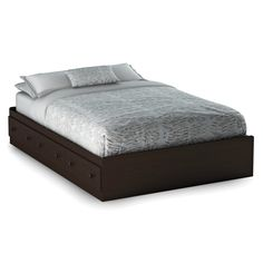 Have to have it. South Shore Summer Breeze Platform Bed Collection - Chocolate $184.99