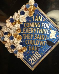 Diy Graduation Cap Discover Your place to buy and sell all things handmade Graduation Topper Disney Graduation Cap, Funny Graduation Caps, Custom Graduation Caps, Graduation Cap Toppers, Nursing School Graduation, Graduation Cap Designs, Graduation Cap Decoration, Graduation Diy, Grad Cap